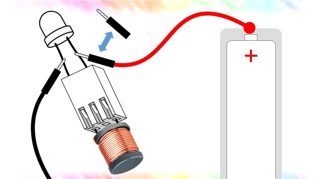 인덕터를 이용한 전자촛불 만들기