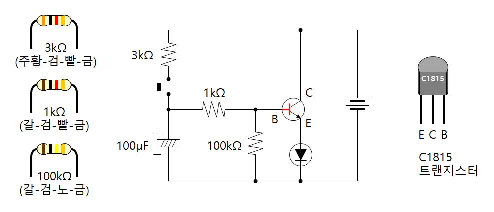 천천히 켜지는 LED (밝기 개선)
