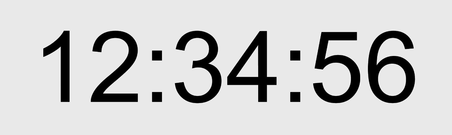 시계 a Clock