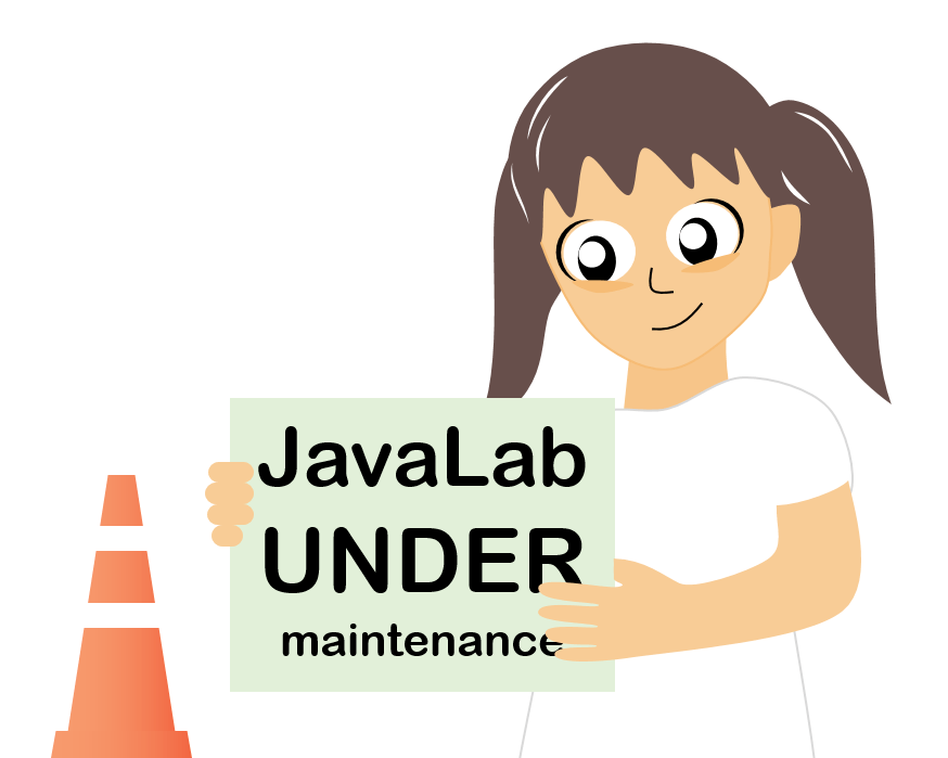 Javalab server maintenance notice