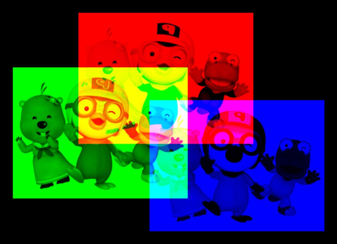 웹캠으로 RGB 컬러 나누기 RGB Decomposer