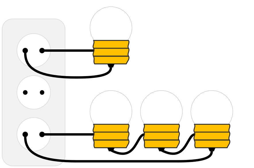 Serial Parallel Circuit