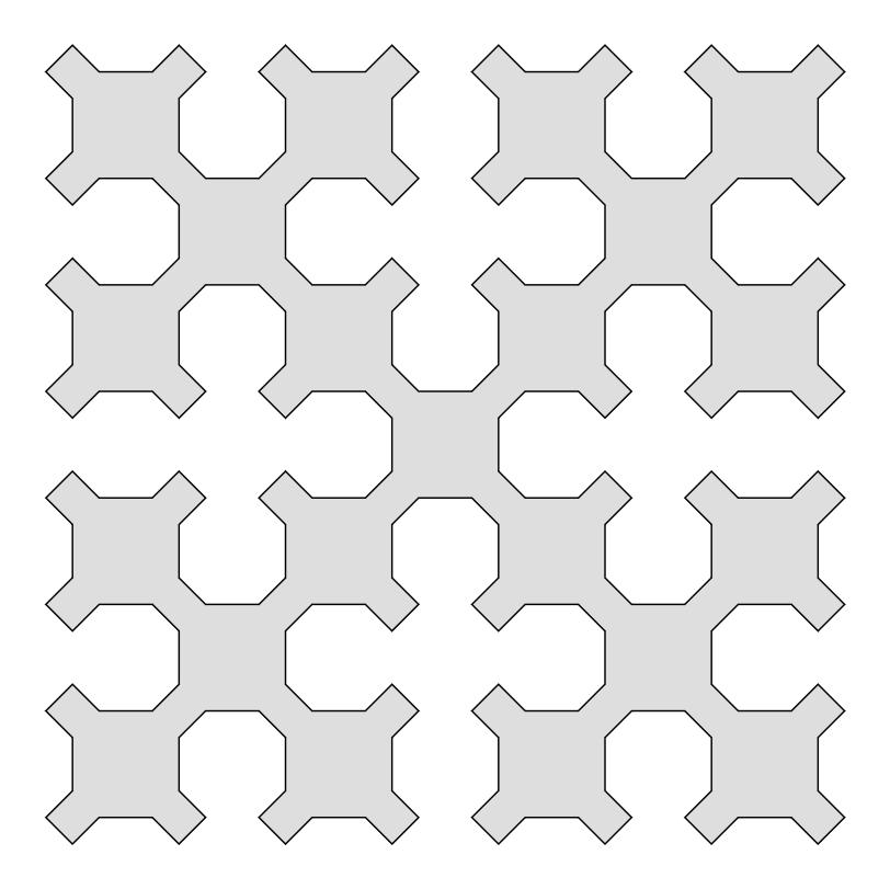 시에르핀스키 커브 Sierpinski Curve