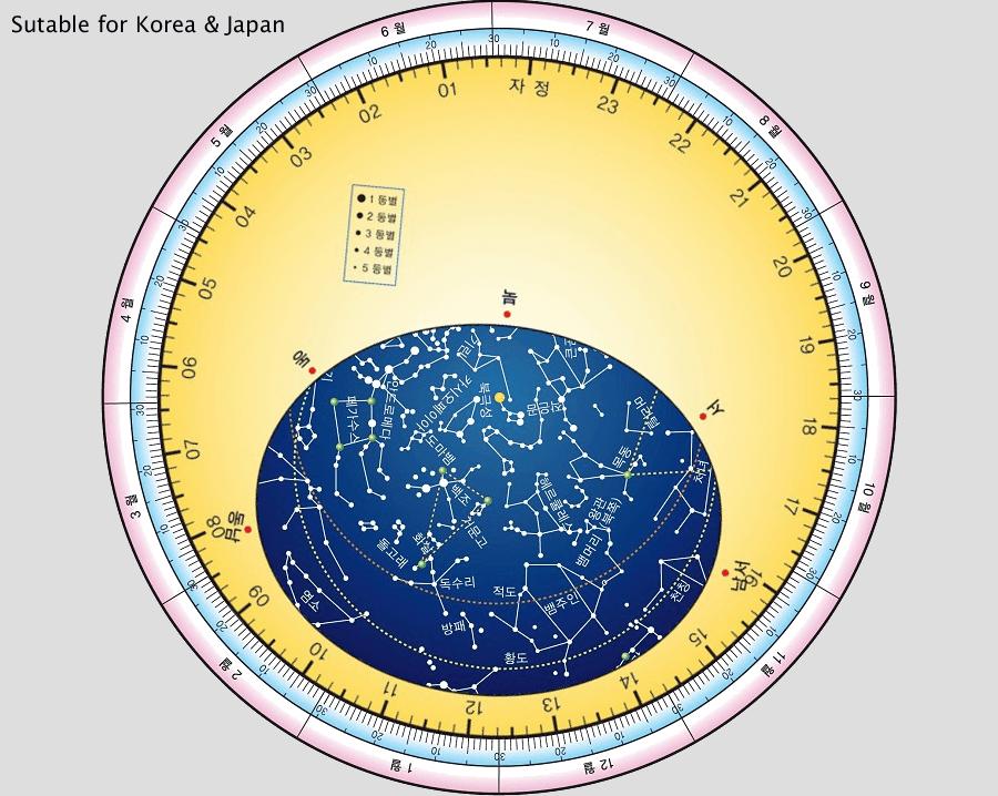 별자리판 Star Wheel