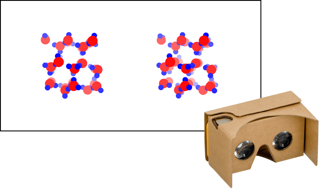 Structure of Ice - 3D VR