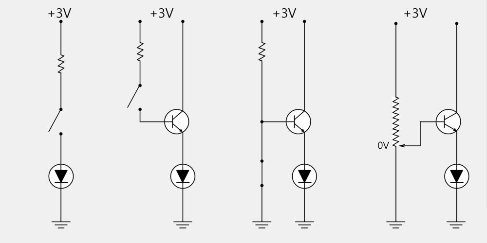 Transistor application circuit
