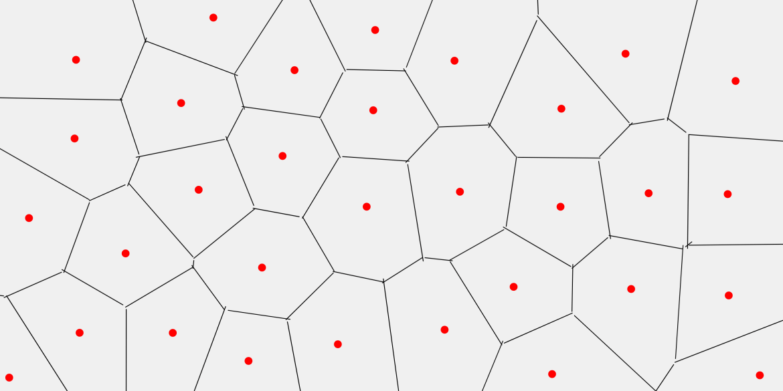 보로노이 다이어그램 Voronoi Diagram