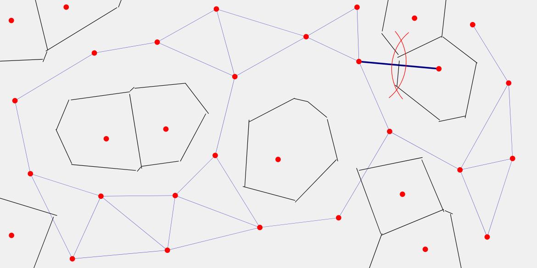 보로노이 다이어그램 그리기 Voronoi Diagram Drawing